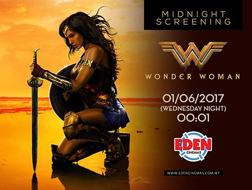 wonder woman cinema malta