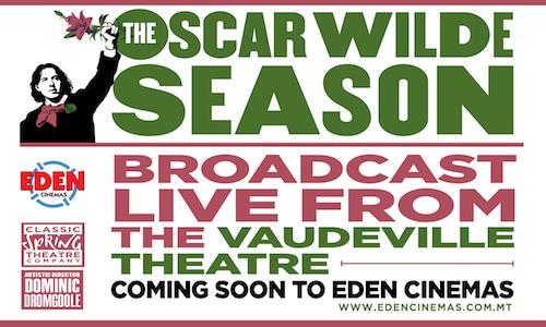 oscarwilde at Edne Cinemas