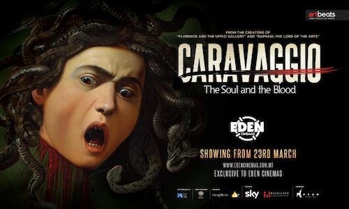 Caravaggio at Eden Cinemas