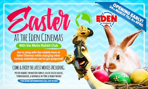 Eden easter 2018