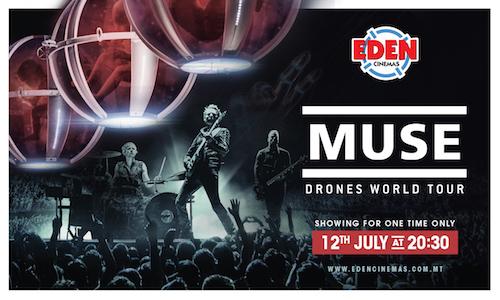 muse drones tour at eden cinemas