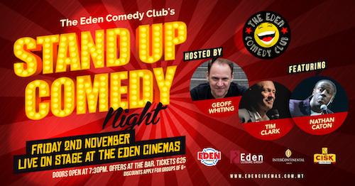 Standup Comedy Night 2018 Malta
